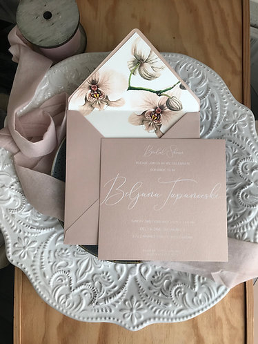 Nude Orchid - Envelope Liner