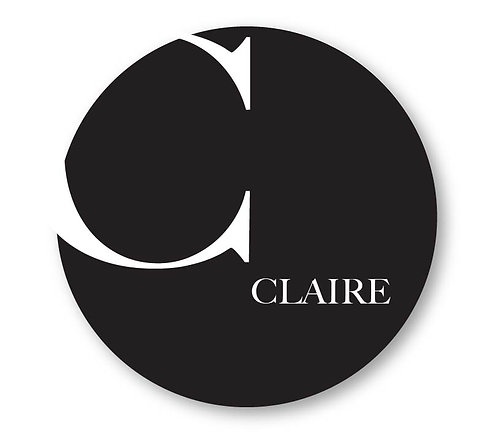 Claire - Round Place Card