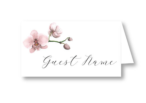Nude Orchid - Place Card