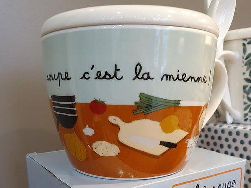 Copie de Le Bol a Soupe 'La soupe c est la mienne'