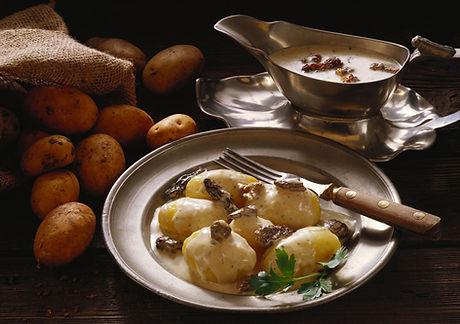 Kartoffeln in Sahne