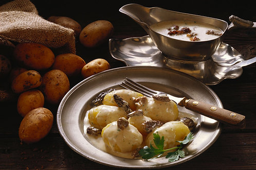Pan-seared Baby New Potatoes