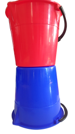 EMC Blue and Red 9lt Grip&Pour