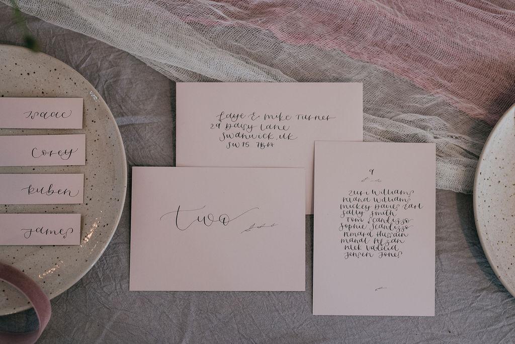 Emma McNair for Wild Calligraphy - Minim