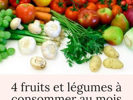 Les fruits et légumes à consommer au mois de janvier