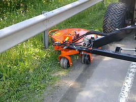 Cable Rail and Guard Rail mower
