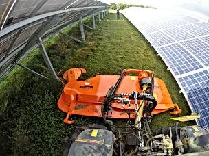 Solar Field Mower