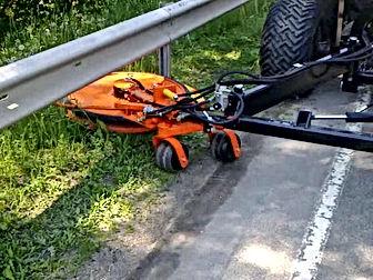 Guard Rail Mower