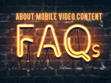 FAQs about mobile videos