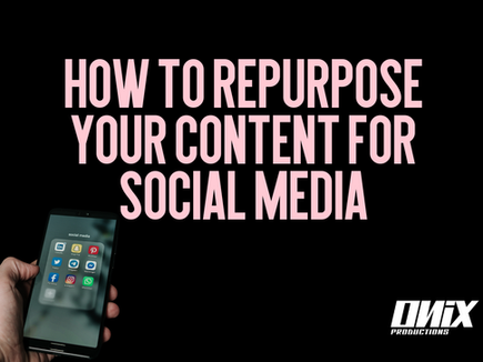 How to Repurpose your content for Social Media
