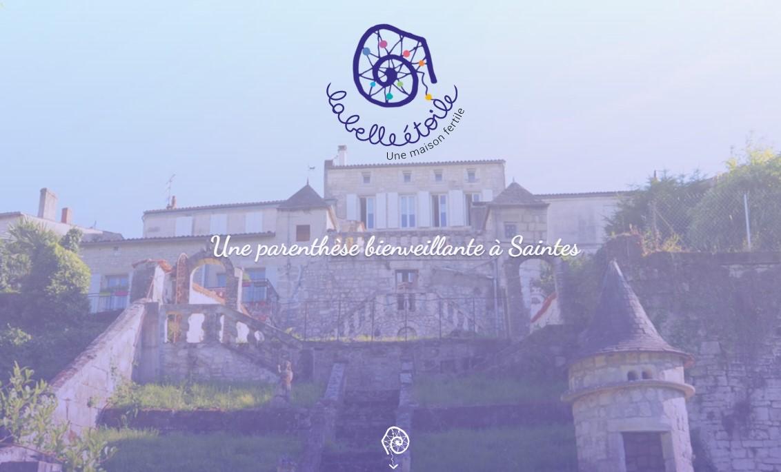 Développement site & rédaction contenus | La Belle Etoile (Saintes)