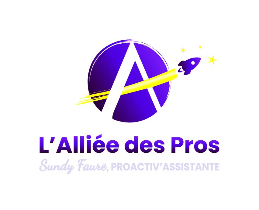 Stratégie de communication & logo | L'Alliée des Pros (Charente-Maritime)