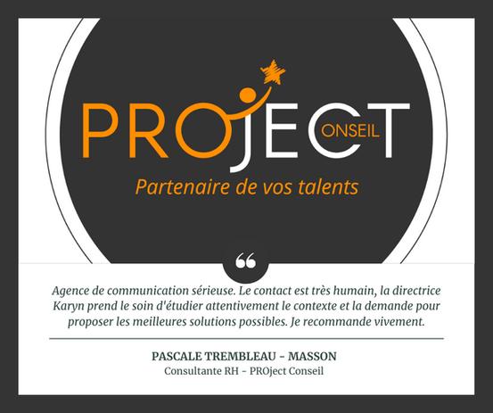 Stratégie de communication - PROject Conseil (Charente)