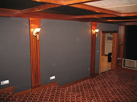 acoustic solutions, acoustic fabric panels, home theater, sound panels
