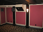 acoustic panels, acoustic solutions, acoustic fabric panels, home theater, sound panes