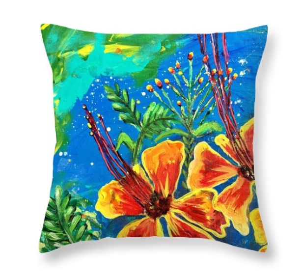 CUSHION COVER PRIDE OF BARBADOS