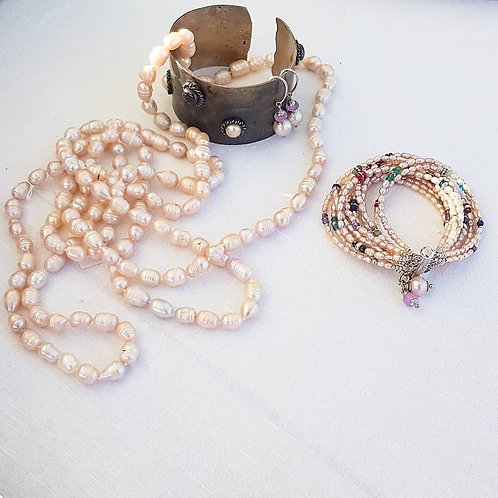 Fresh water pearls - long necklace