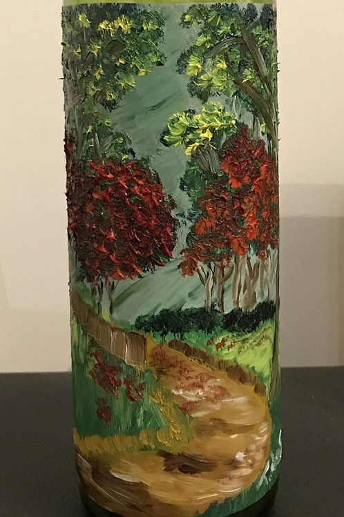 Bottle art and fine art by Trevor de Silvia