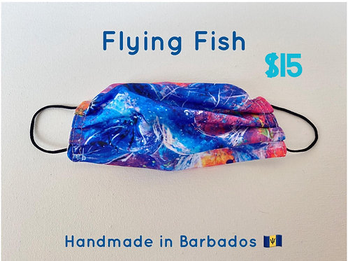 Flying Fish face mask