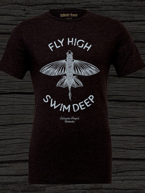 Fly High - Swim Deep round neck t-shirt.