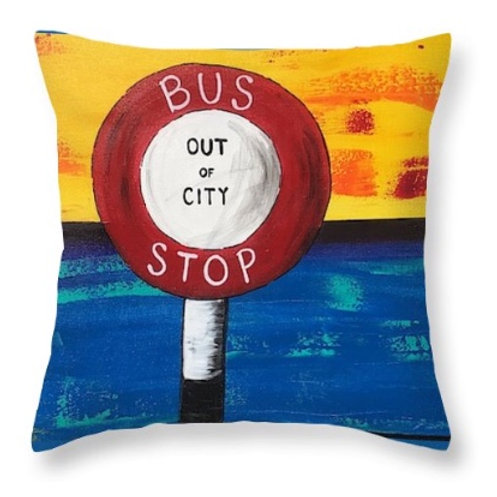 CUSHION COVER BUS STOP