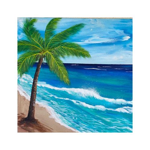 Coconut Tree 16 x 16
