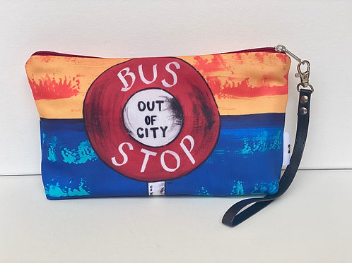 CLUTCH BAG BUS STOP