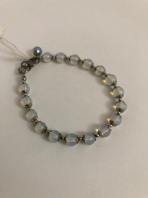 Opalite silver bracelet