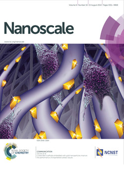 Coiled fiber scaffolds embedded with gold nanoparticles improve the performance of engineered card