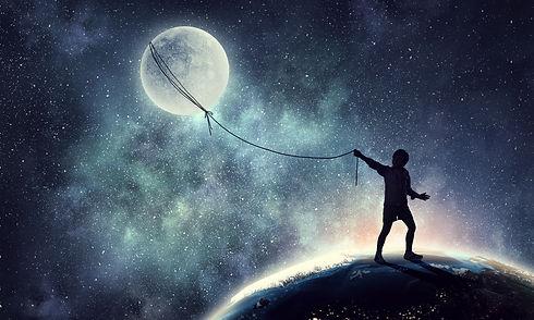 Childish sweet dreams . Mixed media.jpg