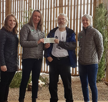 NATURE'S WAY CANADA DONATES TO CWRC