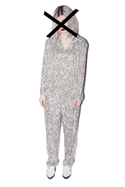 "Pajamas ""Burnt plastic"""