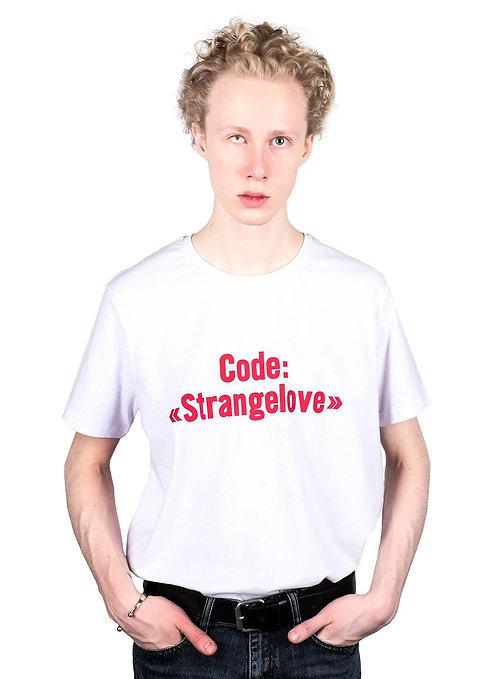 """T-SHIRT """"Код <<Странная любовь>>"""""""