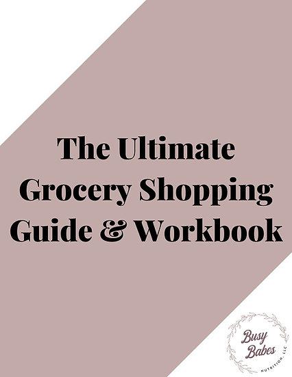 Grocery Shopping Workbook