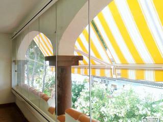 Instalación Cortinas de cristal / Installation  Glass curtains