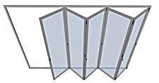 Plegables de Aluminio, cerramientos plegables, puertas plegables, cerramiento libro, folding doors, bi folding doors