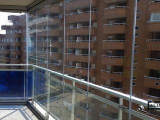 Cortinas de cristal Marina d'Or / Frameless glass doors Marina d'Or