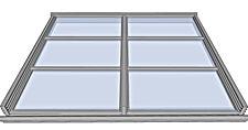 Techos de aluminio, cobertecnic, techos de vidrio, techos de cristal, techos de policarbonato, techos motorizados, roof aluminium