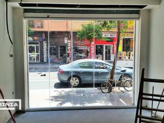 Cortinas de cristal en Valencia / Frameless glass doors in Valencia