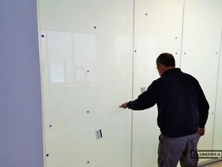 Cortinas de cristal en Castellon / Frameless glass doors in Castellon