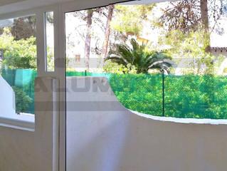 Puertas plegables en Alcocebre / Folding doors Alcocéber
