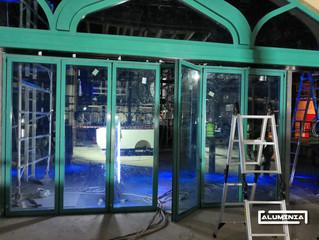 Puertas plegables s70 RPT / Folding doors s70 TB