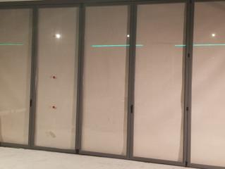 Plegable serie 35 en Valencia / Folding doors serie 35 in Valencia