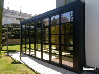 Puertas Plegables con rotura de puente térmico S70 / Thermally Broken Folding Doors S70