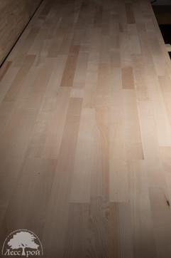 Мебельный щит из клена. Сорт САА (Экстра). Оборотная сторона