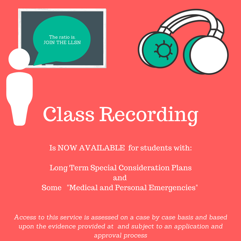 Lecture Recording Is Now Available