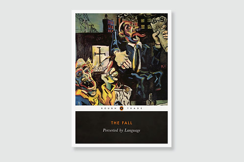 THE FALL - Perverted By Language (In style of Classic Book Cover)