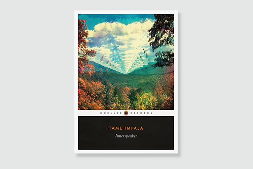 TAME IMPALA - Innerspeaker (In style of Classic Book Cover)