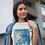 Cherry Blossom Print T-Shirt Vintage Japanese Woodblock Art Ohara Koson