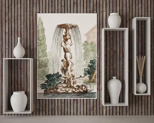 Johan Teyler - Fountain With Venus And Amor (À La Poupée)